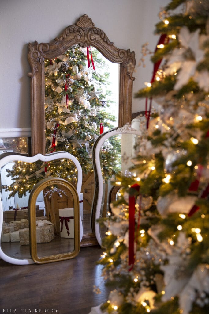 Red and Green Christmas Home Tour
