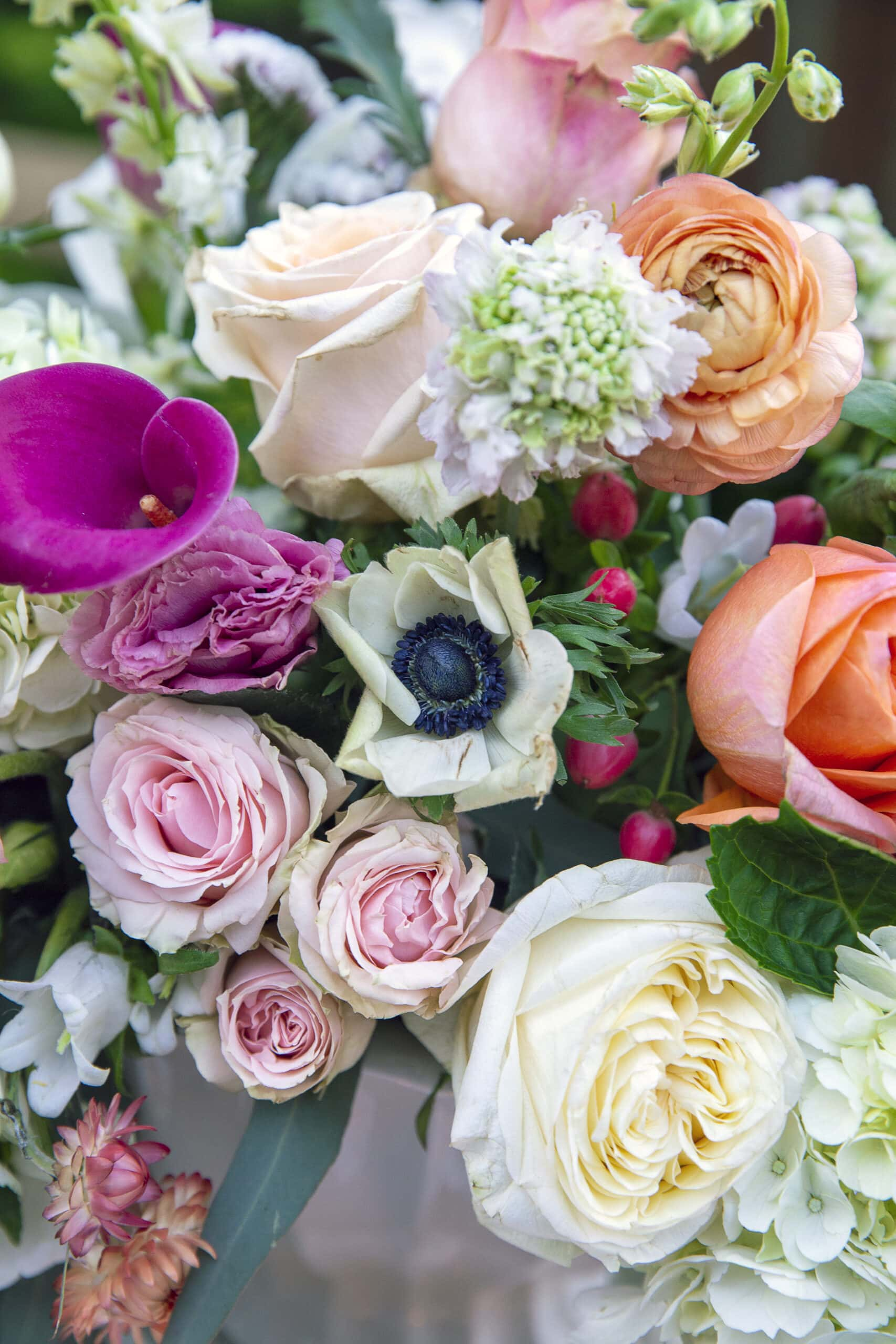 spring flowers for centerpiece